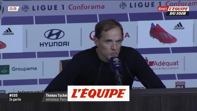 Tuchel livre son sentiment après la défaite du PSG à Lyon - dailymotion.com