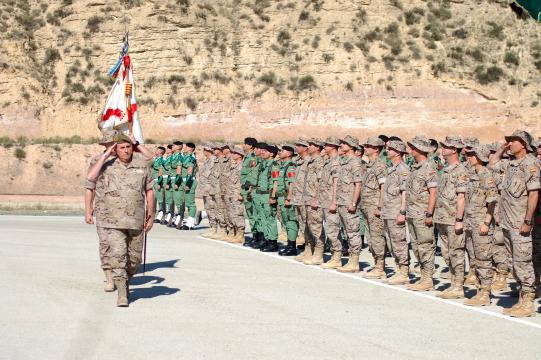 Despedida a un contingente con dirección a Iraq y Mali
