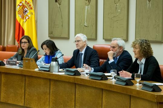 Detalle de la comparecencia ministerial sobre las misones internacionales