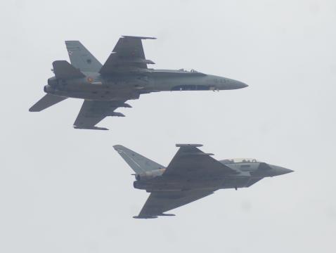 F-18 y Eurofighter, este 2019 se implicaran de nuevo en misiones