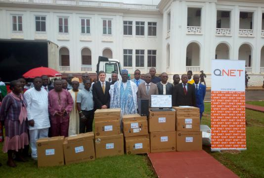 Cameroun : QNET offre des ordinateurs au Centre multifonctionnel ... - camernews.com