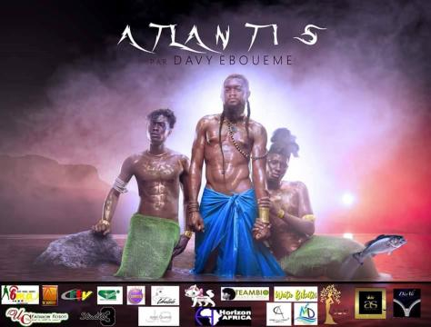 l'affiche du la collection Atlantis (c) Davy Eboueme