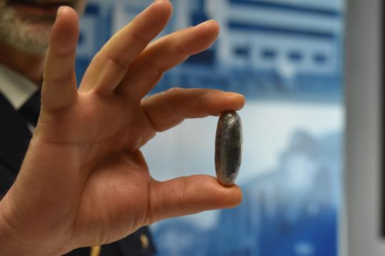 Verona, l'ovulo trovato in tasca a all'uomo arrestato per detenzione ai fini di spaccio.