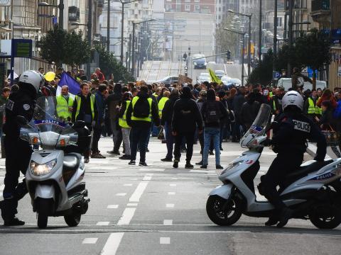 Acte XVII des Gilets jaunes à Rouen : une mobilisation « en forte ... - actu.fr