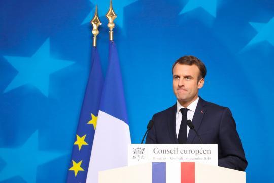 Sondage européennes : les marcheurs de Macron s'installent en tête - parismatch.com