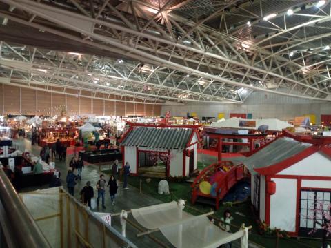 Festival dell'Oriente visione dall'alto 2