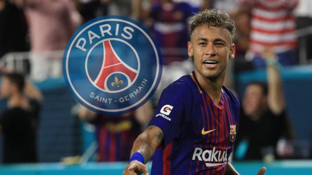 Neymar dans sa nouvelle équipe : Paris Saint Germain