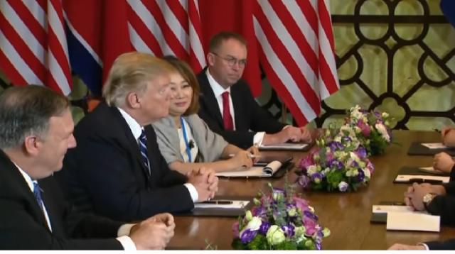 Trump - Kim Jong Un summit ends abruptly with no deal. [Image source/CBS This Morning YouTube video]