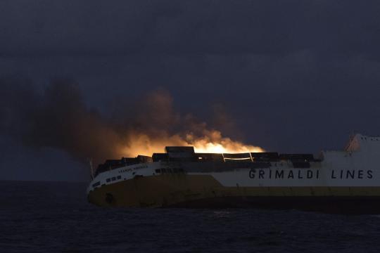 Naufrage du «Grande America»: Une nappe noire au large des côtes ... - titrespresse.com