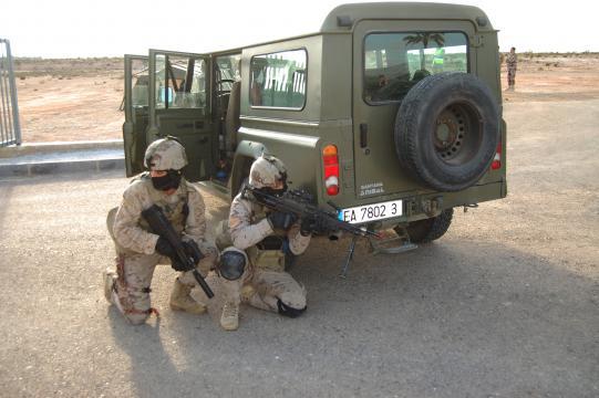 Efectivos de la EADA tomaran un aeropuerto en territorio enemigo como parte de la operación