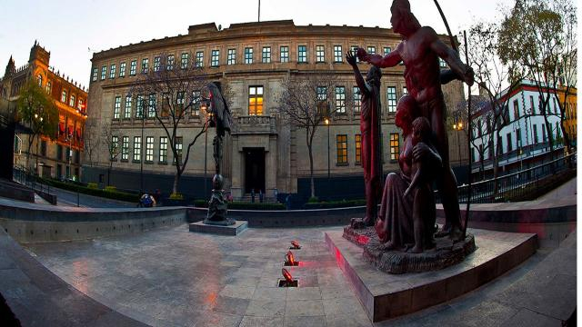 Histórico edificio del máximo tribunal mexicano