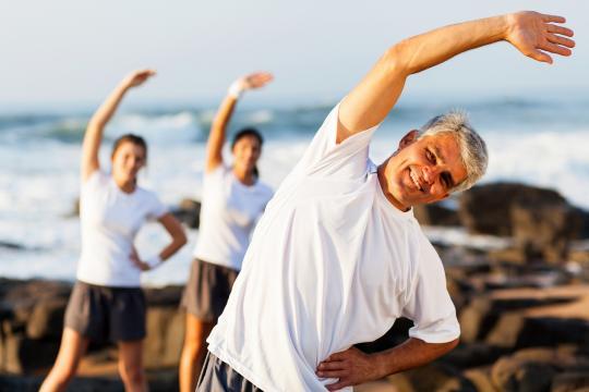 Propriocepção - Exercício físico - bancodasaude.com - Banco de imagens BN