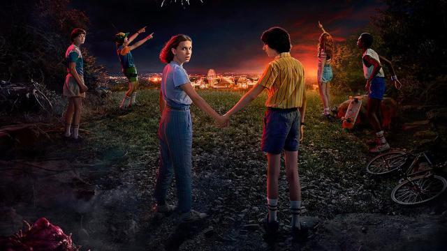 Stranger Things, póster oficial de la tercera temporada (Netflix)