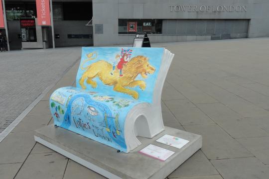 Panchine artistiche a Londra (RE/MAX London)