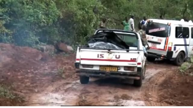 Aftermath of Cyclone Idai, death toll rises in Zimbabwe. [Image source/SABC Digital News YouTube video]
