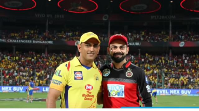 Inaugural match between Chennai and Bangalore IPL 2019 : CSK vs RCB 1st IPL Match Highlights. [Image source/B.N. 24 YouTube video]