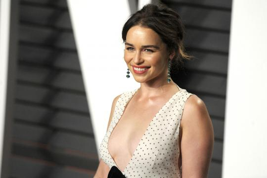 Emilia Clarke Has a Vision for Nudity Equality on Game of Thrones ... - tvguide.com