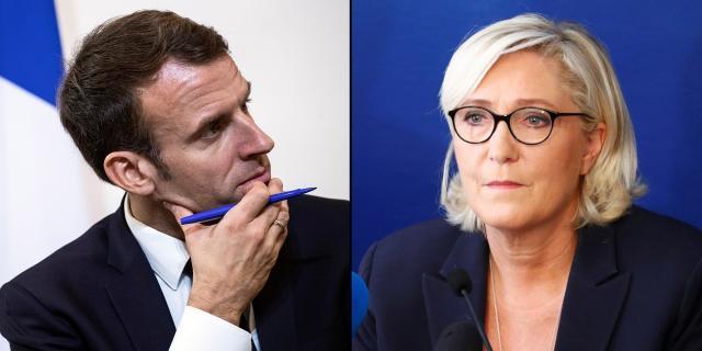 En Marche rattrapé par Marine Le Pen : 6 choses à savoir à 6 mois ... - lejdd.fr