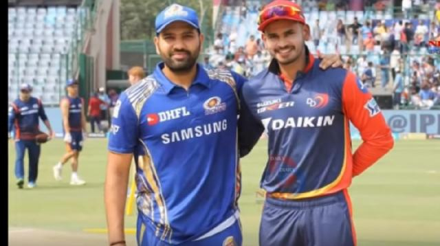 Mumbai Indians win toss, opt to bowl vs Delhi Capitals. [Image source/Daily Diary News YouTube video]