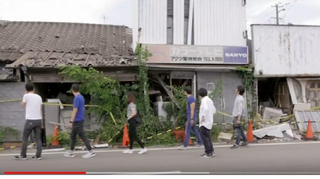 Nuclear tourism seeks to energise the radiation ghost towns of Fukushima. [Image source/World News YouTube video]