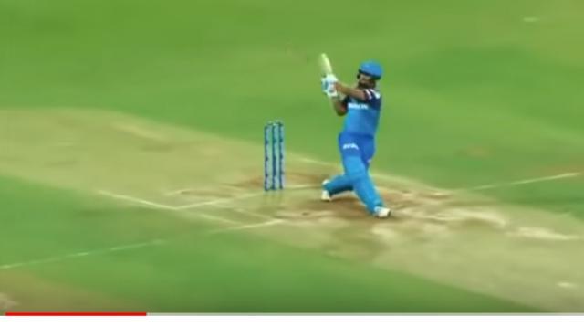 Rishabh Pant scored 78 runs off 27 balls. [Image source/ARS NETWORK YouTube video] https://www.youtube.com/watch?v=A_hD_HaM0HA
