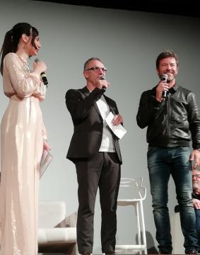 ReggioFilmFest: Marita Langella, Direttore generale Michele Geria, Paolo Conticini