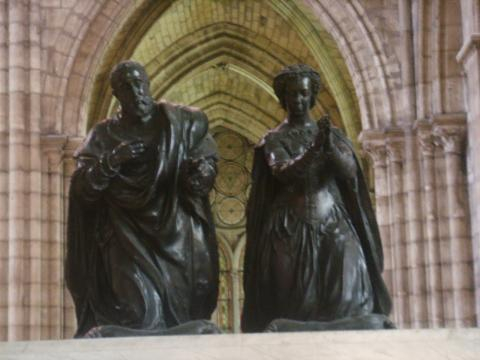 File:Basilica di saint Denis tomba enrico II e caterina de' Medici ... - wikimedia.org