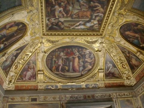 File:Sala di Clemente VII, Sposalizio di Caterina de' Medici con ... - wikipedia.org