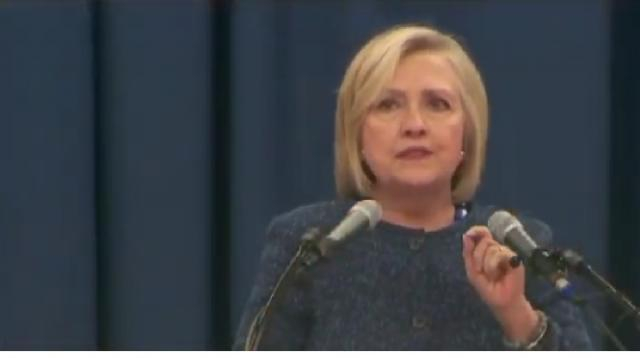 Hillary Clinton: 'I'm not running' in 2020. [Image source/WJHL YouTube video]