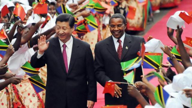 A África foi beneficiada pelas relações comerciais com a China (Foto: Reprodução)