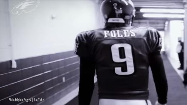 Nick Foles is expected to leave Philadelphia Eagles - Image credit - Philadelphia Eagles | YouTube