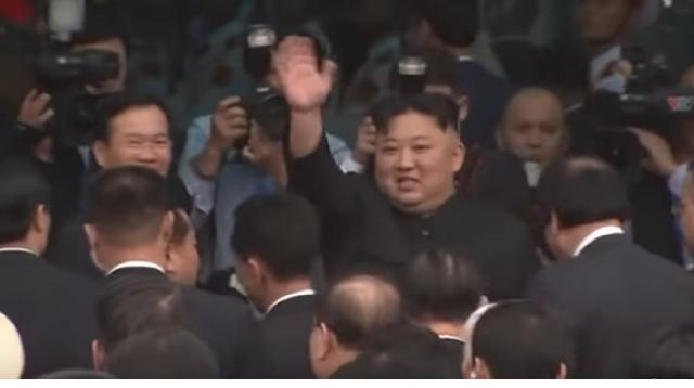Kim Jong Un leaves Vietnam after failed summit with Trump. [Image source/Global News YouTube video]