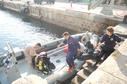 Con el equipo revisado y verificado se procede al embarque