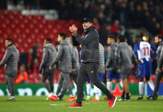 UCL: Jurgen Klopp Eyes Semifinal Ticket After Liverpool 2-0 Win ... - com.ng