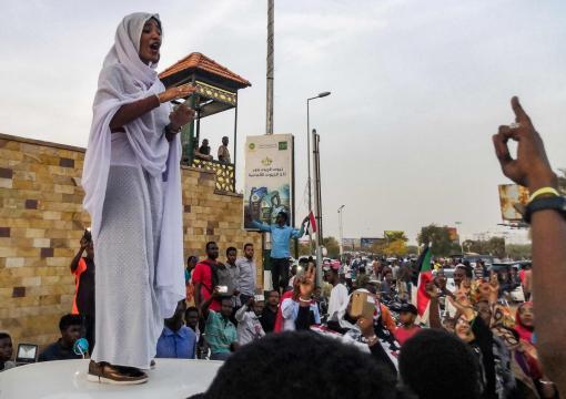 Alaa Salah, la 22enne diventa simbolo delle proteste in Sudan - tpi.it