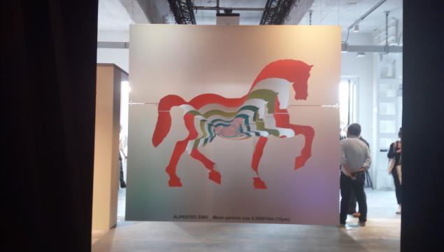 Alapste presso Base Milano la celebrazione del cavallo di Leonardo al Fuorisalone