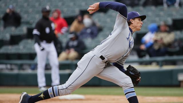 La rotación de los Rays tiene 3 grandes brazos. MLB.com.