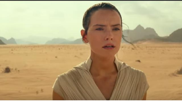 Star Wars: Episode IX The Rise of Skywalker | Official trailer HD. [Image source/The Sun YouTube video]