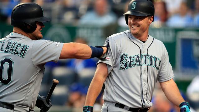 Vogelbach y Bruce son bates de poder para los Mariners. MLB.com.