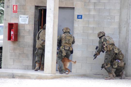 ¡ADELANTE! Los Boinas Verdes se lanzan al asalto del zulo terrorista, segundos después la rehén está a salvo y los secuestradores abatidos