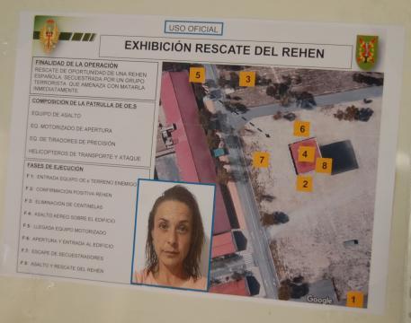 Informe operativo de la misón de rescate, la preparación es concienzuda para no dejar nada al azar