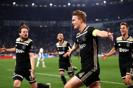 El Ajax dio el gran golpe en Europa. www.usatoday.com