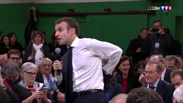 Grand débat national : Emmanuel Macron a renoué le dialogue avec ... - lci.fr