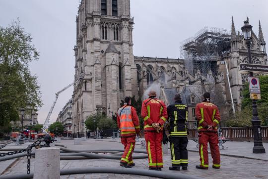 L'incendio della cattedrale di Notre Dame è