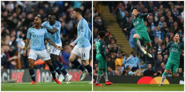 En partidazo legendario, Tottenham eliminó al Manchester CIty .de semana.com