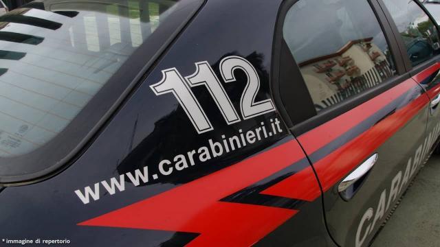 Sul posto sono intervenuti i militari dell'arma dei carabinieri.