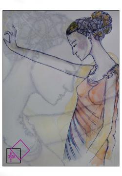 Illustrazione della Dea Era archetipo della moglie