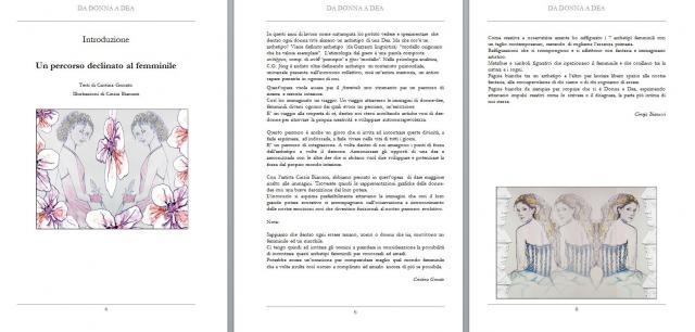 Introduzione del libro con alcune rappresentazioni artistiche