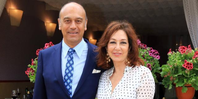 Ana Rosa Quintana y Juan Muñoz en imagen