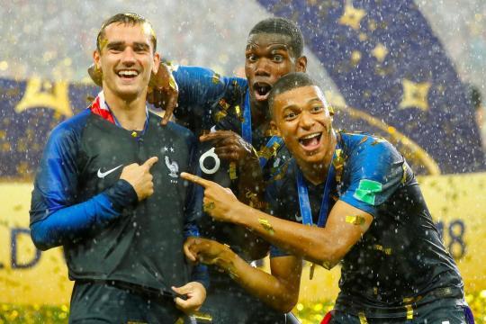 La France, championne du monde, en tête du nouveau classement Fifa - parismatch.com